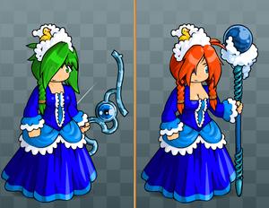 EBF5 Bubble Dress and Rubber Duck