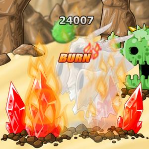 Spell Fire Crystals EBF4