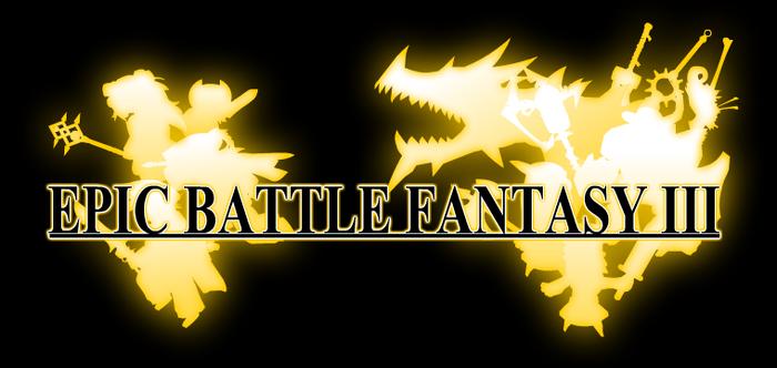 Epic Battle Fantasy 3 Title