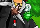 Rock Badge + Venom Badge + Air Badge