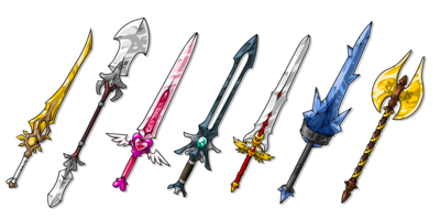 EBF5 Swords Concept Art