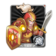 Human Warrior Card