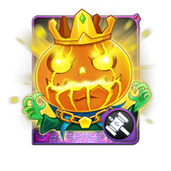 Pumpkin Prince Card