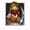 Female Soldier Card