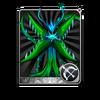 Green Flower Card