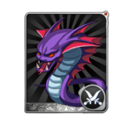 Blue Snake Card