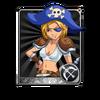 Female Pirate Card