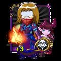 Undead Warlock+3 Card