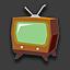 Tv sketch icon