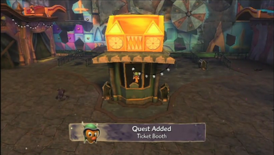 Ticket Booth Quest 1