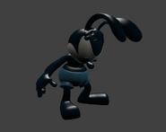 Oswald brushing his ears