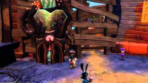 Disney Epic Mickey 2 The Power of Two — Reconstructed Wasteland vignette-0