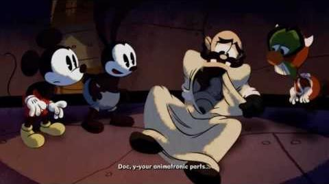 Epic Mickey 2 The Power Of Two Cutscene 4