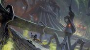 Space Voyage Concept Art