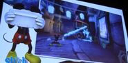 Mickey mouse playing the wii U