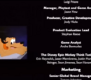 The Disney Epic Mickey Think Tank 2004