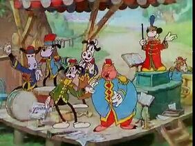 Mickey Mouse - The Band Concert - 1935
