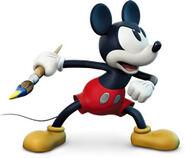 Mickey scowl