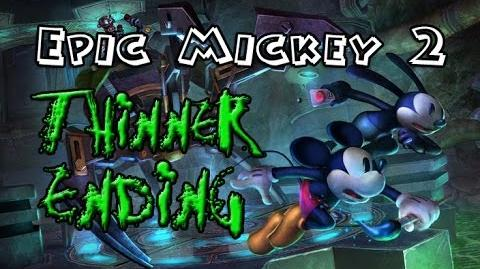 Epic Mickey 2 - Full Thinner Evil Path Ending