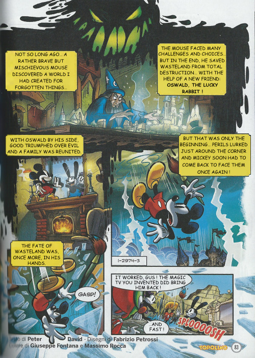 Epic mickey 2 the power of two graphic novel epic mickey wiki epic mickey 2 the power of two graphic novel ccuart Images