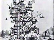 Mickey Mouse - Building a Building - 1933