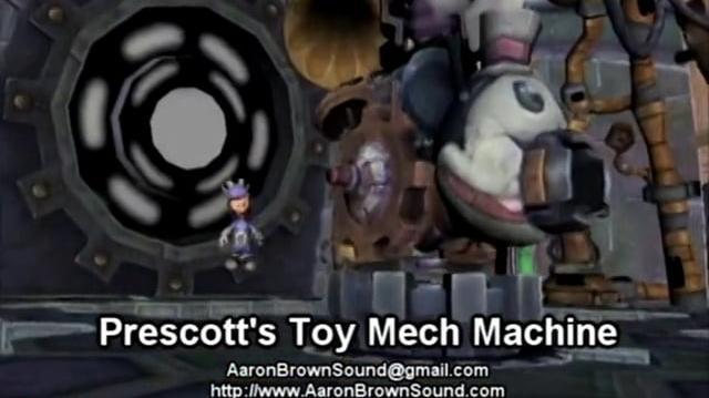 Demo Reel - Epic Mickey 2 - SFX - Aaron Brown