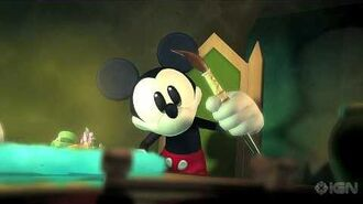 Epic Mickey Intro Cinematic Trailer - Gamescom '10