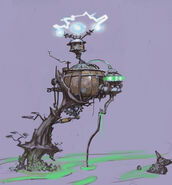 Epic Mickey concept art 3