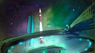 Rocket concept art