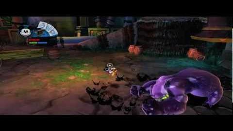 Disney Epic Mickey 2 Fort Wasteland Gameplay Footage