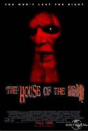 The House of the Dead poster