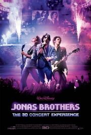 Jonas Brothers 3D Concert Experience poster