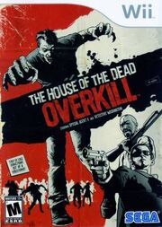 The House of the Dead Overkill game cover