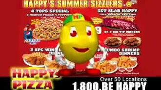 Happy Pizza 2009 Commercial - Voiced By Rucka Rucka Ali