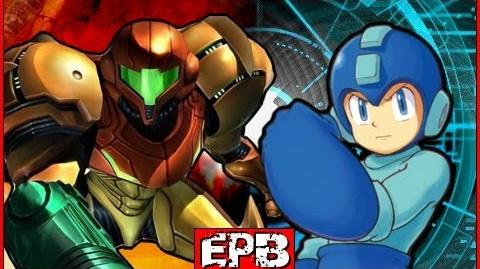 Megaman Vs Samus Aran - Epic Pixel Battle EPB 03
