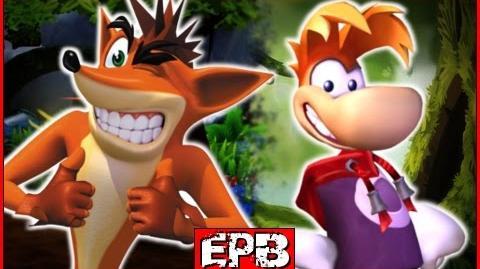 Rayman Vs Crash Bandicoot - Epic Pixel Battle -EPB 08-