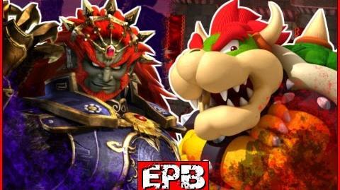 Bowser Vs Ganondorf - Epic Pixel Battle EPB 05-0