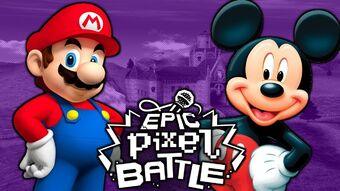Mario Vs Mickey Epic Pixel Battles Wiki Fandom