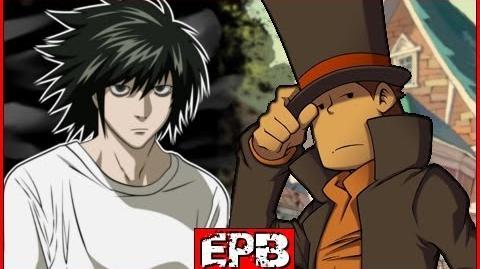 Professeur Layton Vs L - Epic Pixel Battle EPB 04