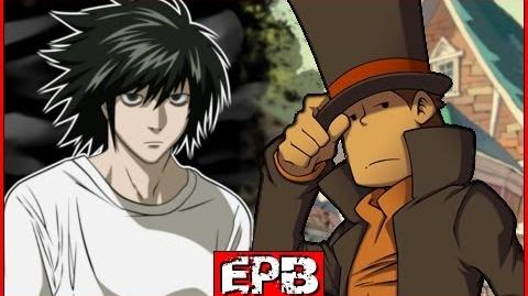 Professeur Layton Vs L - Epic Pixel Battle EPB 04