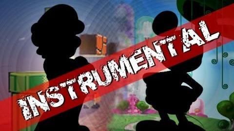 ♫♪ Mario Vs Mickey - Epic Pixel Battle Instrumental