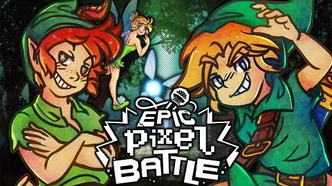 Link VS Peter Pan - EPIC PIXEL BATTLE EPB SAISON 3