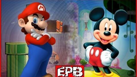 Mario Vs Mickey - Epic Pixel Battle 01