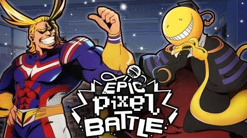 All Might Vs Koro Sensei - EPIC PIXEL BATTLE EPB SAISON 3