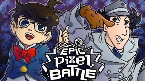 Détective Conan Vs Inspecteur Gadget - EPIC PIXEL BATTLE