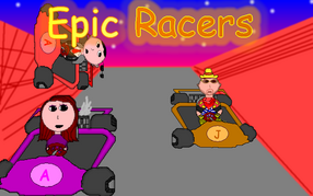Epic Racers Cover