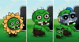 Fake zombies