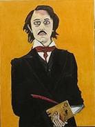 Edgar Allan Poe Painting