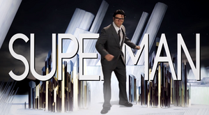 Superman Title Card