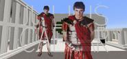 Caesar Title Card Minecraft